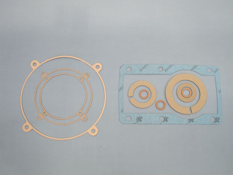 Cellulose fiber gaskets